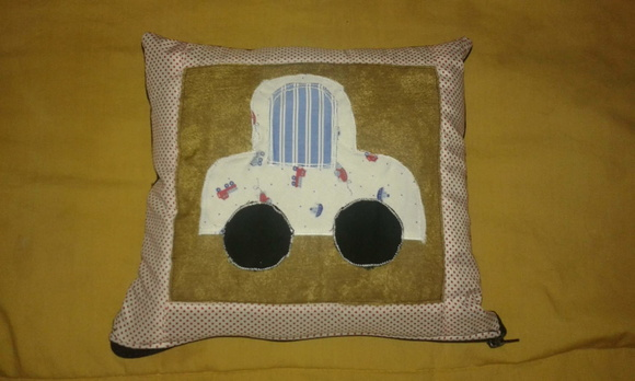Almohadones Patchwork