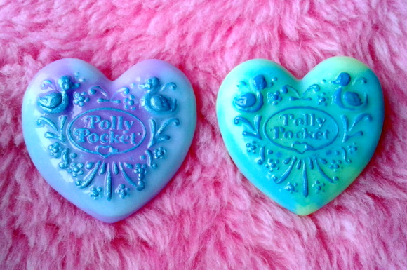Prendedor Polly Pocket Corazon