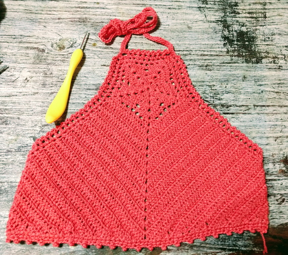 Crop Top - Top Crop - Tejido a Crochet